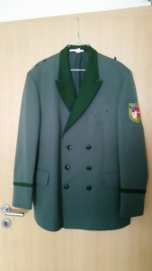 Uniformjacke, Größe 27